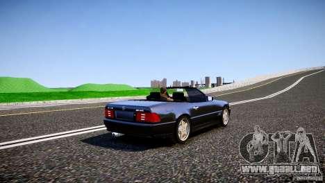Mercedes SL 500 AMG 1995 para GTA 4 visión correcta