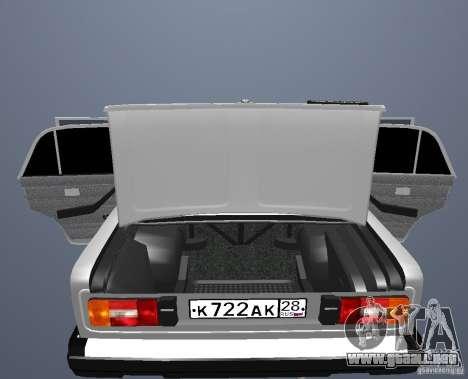Vaz 21063 para visión interna GTA San Andreas