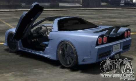 Acura NSX Veilside Fortune v 1.0 para GTA 4 left
