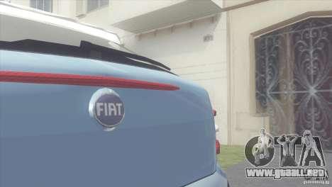 Fiat Brava HGT para GTA San Andreas vista posterior izquierda
