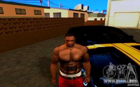 Slipknot tatoo para GTA San Andreas segunda pantalla