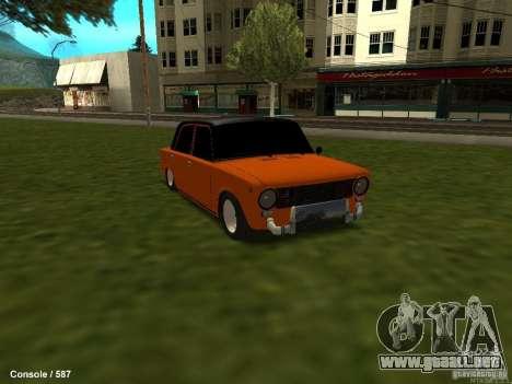 VAZ 2101 Hobo para la visión correcta GTA San Andreas