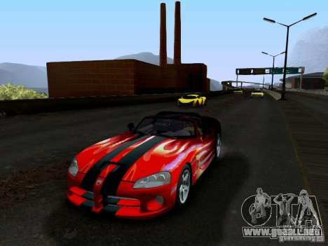 Dodge Viper SRT-10 Custom para vista inferior GTA San Andreas