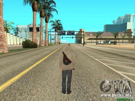 Desmond Miles para GTA San Andreas tercera pantalla