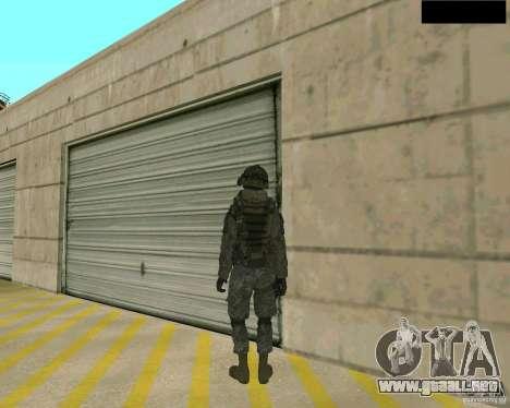 Piel del soldado de CODMW 2 para GTA San Andreas tercera pantalla