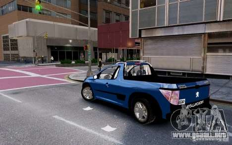 Peugeot Hoggar Escapade para GTA 4 left