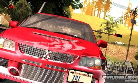 ENBSeries RCM para el PC débil para GTA San Andreas segunda pantalla