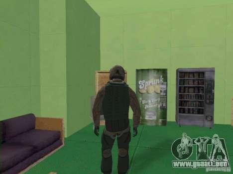 Piloto militar para GTA San Andreas tercera pantalla