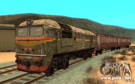 Un tren del juego s.t.a.l.k.e.r. para GTA San Andreas