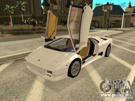 Lamborghini Diablo VT 1995 V2.0 para GTA San Andreas left