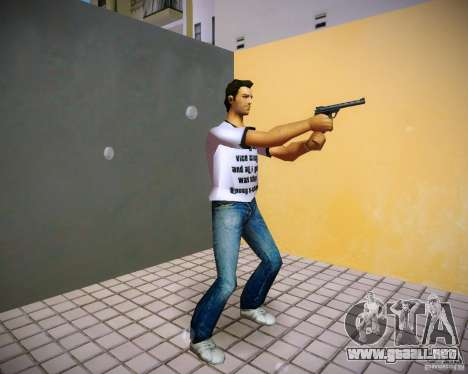 Pak de GTA 4 The Ballad of Gay Tony para GTA Vice City sucesivamente de pantalla