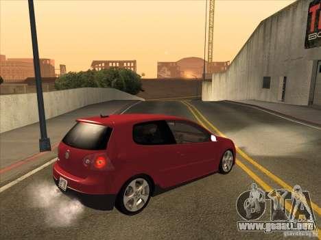 VW Golf Mk5 GTi - Stock: Tunable para la visión correcta GTA San Andreas