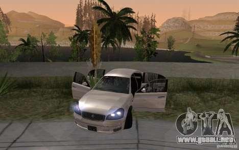 Car crash from GTA IV para GTA San Andreas tercera pantalla