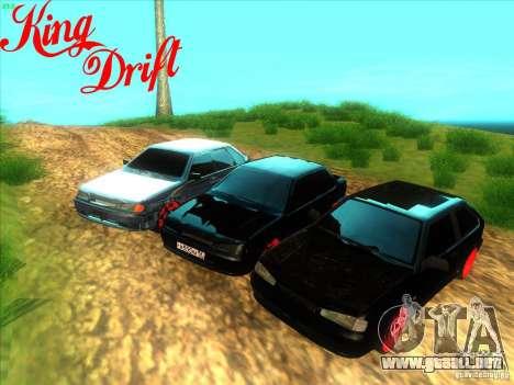 Ваз diablo 2114 estilo para la visión correcta GTA San Andreas