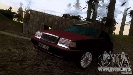 Volvo 850 Final Version para la vista superior GTA San Andreas