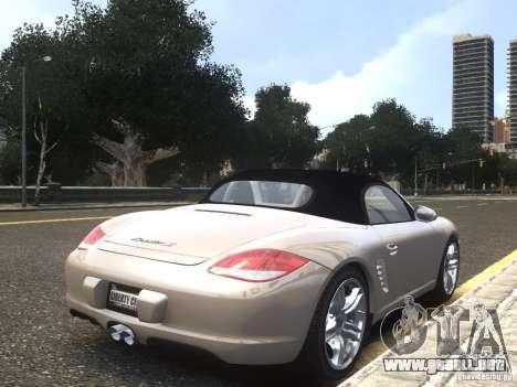 Porsche Boxster S 2010 EPM para GTA 4 left