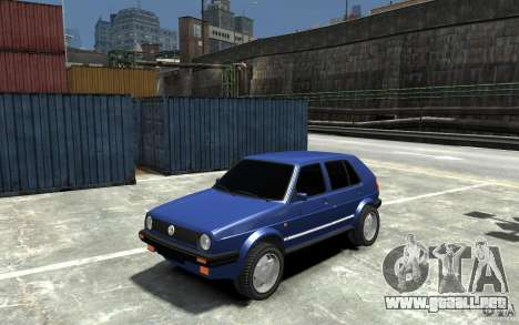 Volkswagen Golf II Country 1990 para GTA 4
