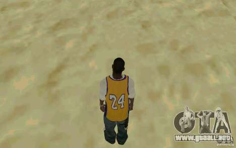 Afro-American HD skin para GTA San Andreas tercera pantalla