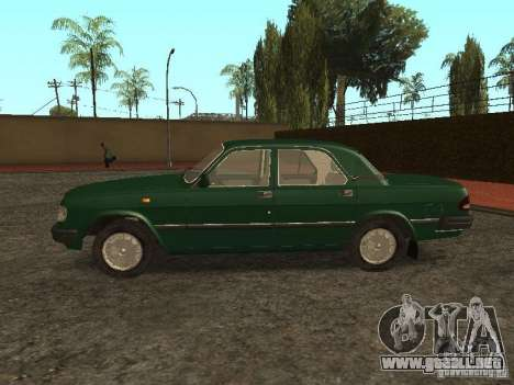 GAZ 3110 v. 2 para GTA San Andreas left