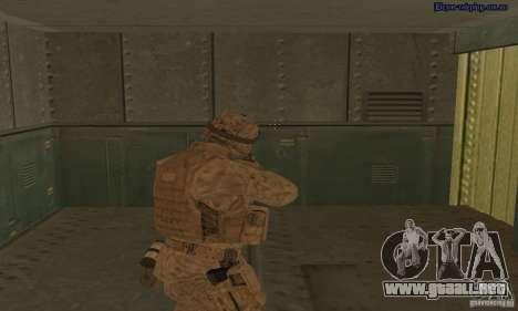 Piel marino para GTA San Andreas tercera pantalla