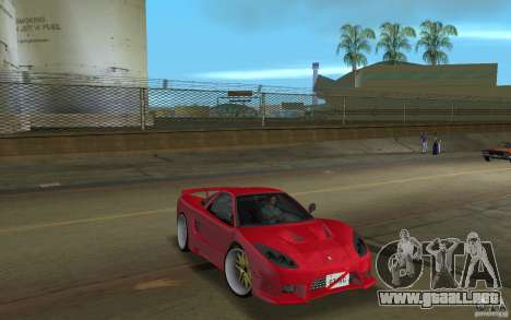 Acura NSX 2004 Veilside para GTA Vice City visión correcta