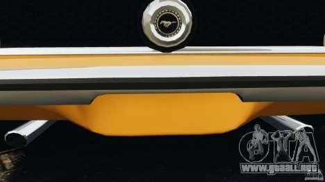 Ford Mustang Mach 1 1973 para GTA motor 4