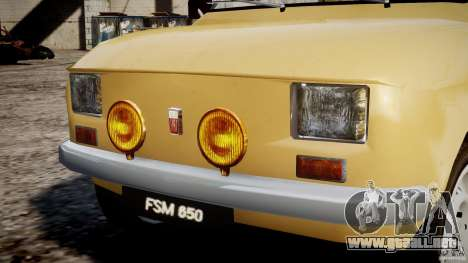 Fiat 126p 1976 para GTA motor 4
