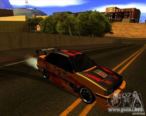 GTA VI Futo GT custom para GTA San Andreas vista hacia atrás