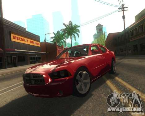 Dodge Charger 2011 para GTA San Andreas