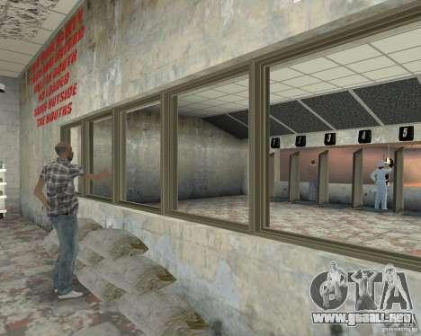 Una bulliciosa tienda Ammu-Nation v3 (Final) para GTA San Andreas sucesivamente de pantalla