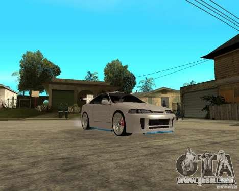Honda Integra TUNING para visión interna GTA San Andreas