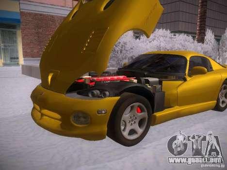 Dodge Viper 1996 para la visión correcta GTA San Andreas