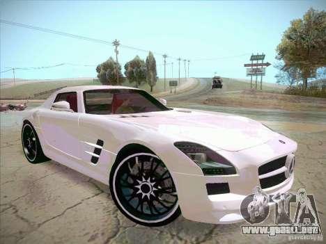 Mercedes-Benz SLS AMG 2010 Hamann Design para la visión correcta GTA San Andreas