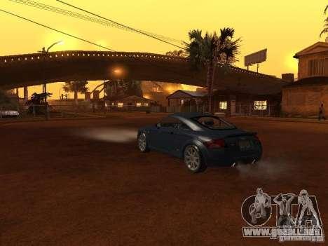 Audi TT 3.2 Quattro para visión interna GTA San Andreas