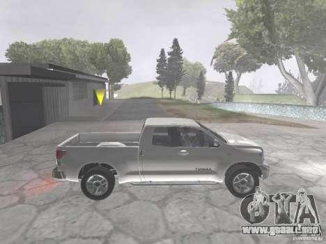 Toyota Tundra para la visión correcta GTA San Andreas