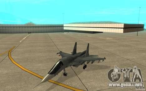 El Su-34 para GTA San Andreas left