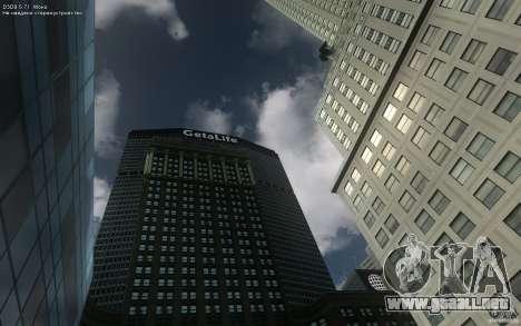 Pantallas de menú y arranque de Liberty City en  para GTA San Andreas segunda pantalla