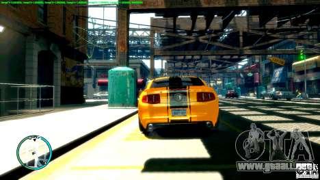 Shelby GT500 Super Snake 2011 para GTA 4 visión correcta