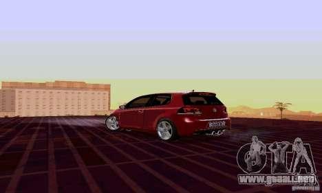 Volkswagen Golf GTI 2011 para GTA San Andreas left