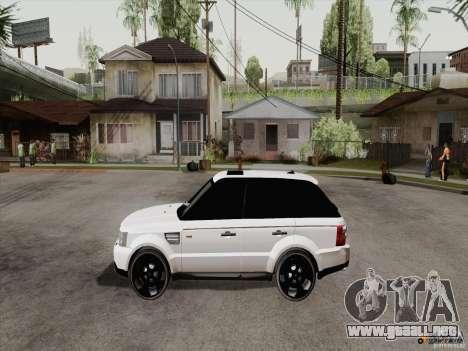 Range Rover Tuning para la visión correcta GTA San Andreas