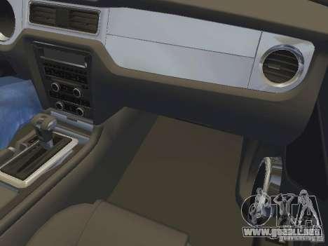 Ford Mustang 2011 GT para las ruedas de GTA San Andreas