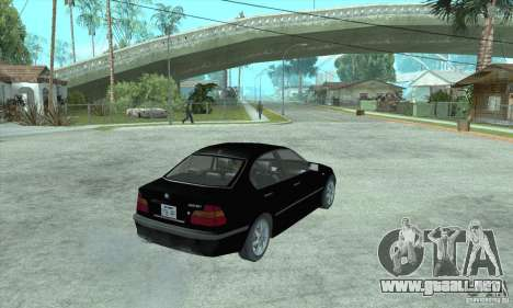 BMW 325i para GTA San Andreas left