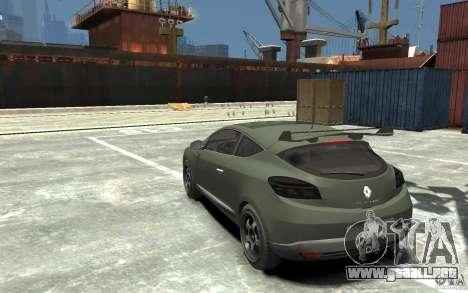 Renault Megane Coupe para GTA 4 Vista posterior izquierda