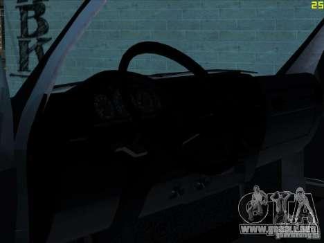 22172 GAS sable para GTA San Andreas vista hacia atrás