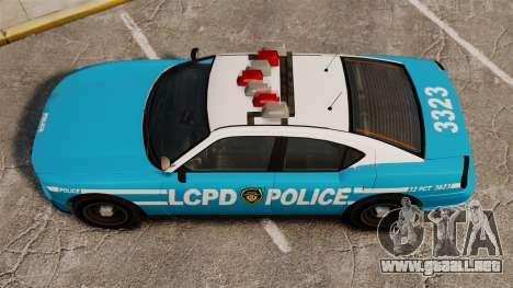 Bravado Buffalo ELS para GTA 4 visión correcta