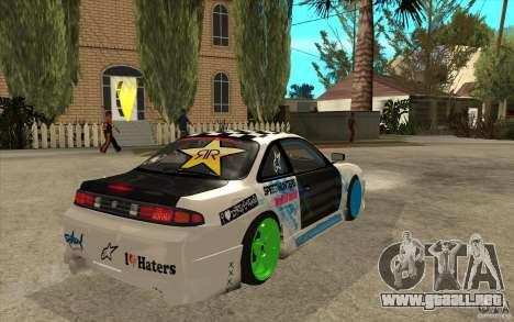 Nissan Silvia S14 Drift Bomb para la visión correcta GTA San Andreas