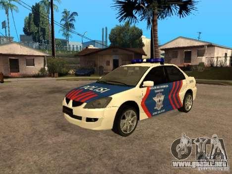 Mitsubishi Lancer Police Indonesia para GTA San Andreas