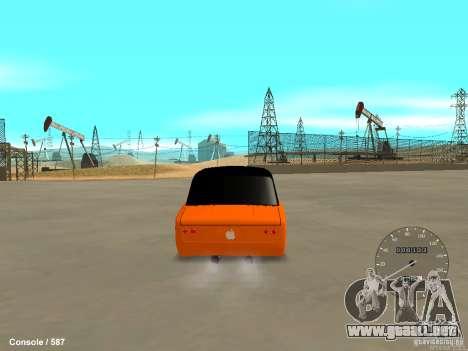 VAZ 2101 Hobo para GTA San Andreas left