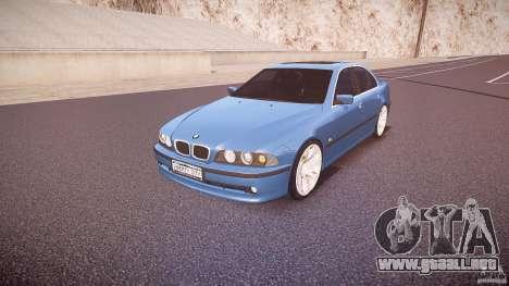 BMW 530I E39 e63 white wheels para GTA 4