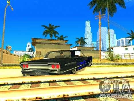 El nuevo gráfico de jeka_raper para GTA San Andreas tercera pantalla